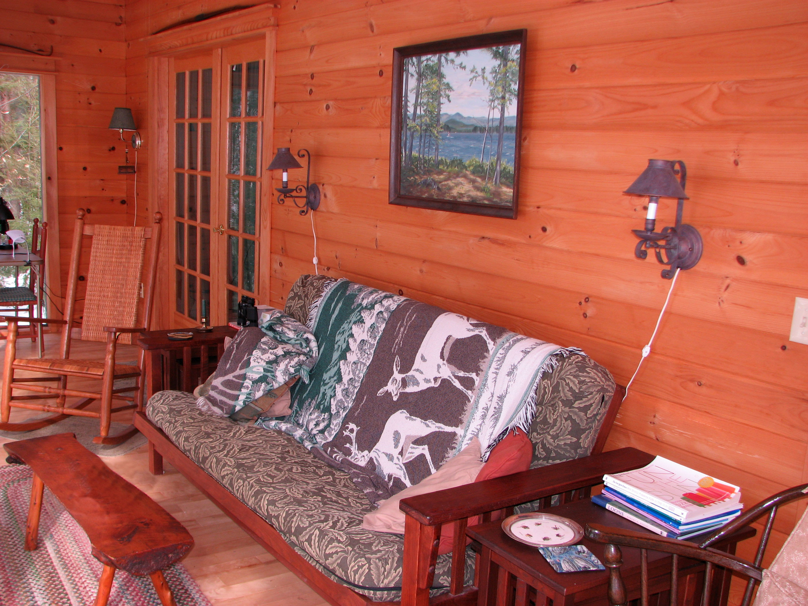 home next lakefront en cabins previous maine rustic cabin secluded sale listing exchange