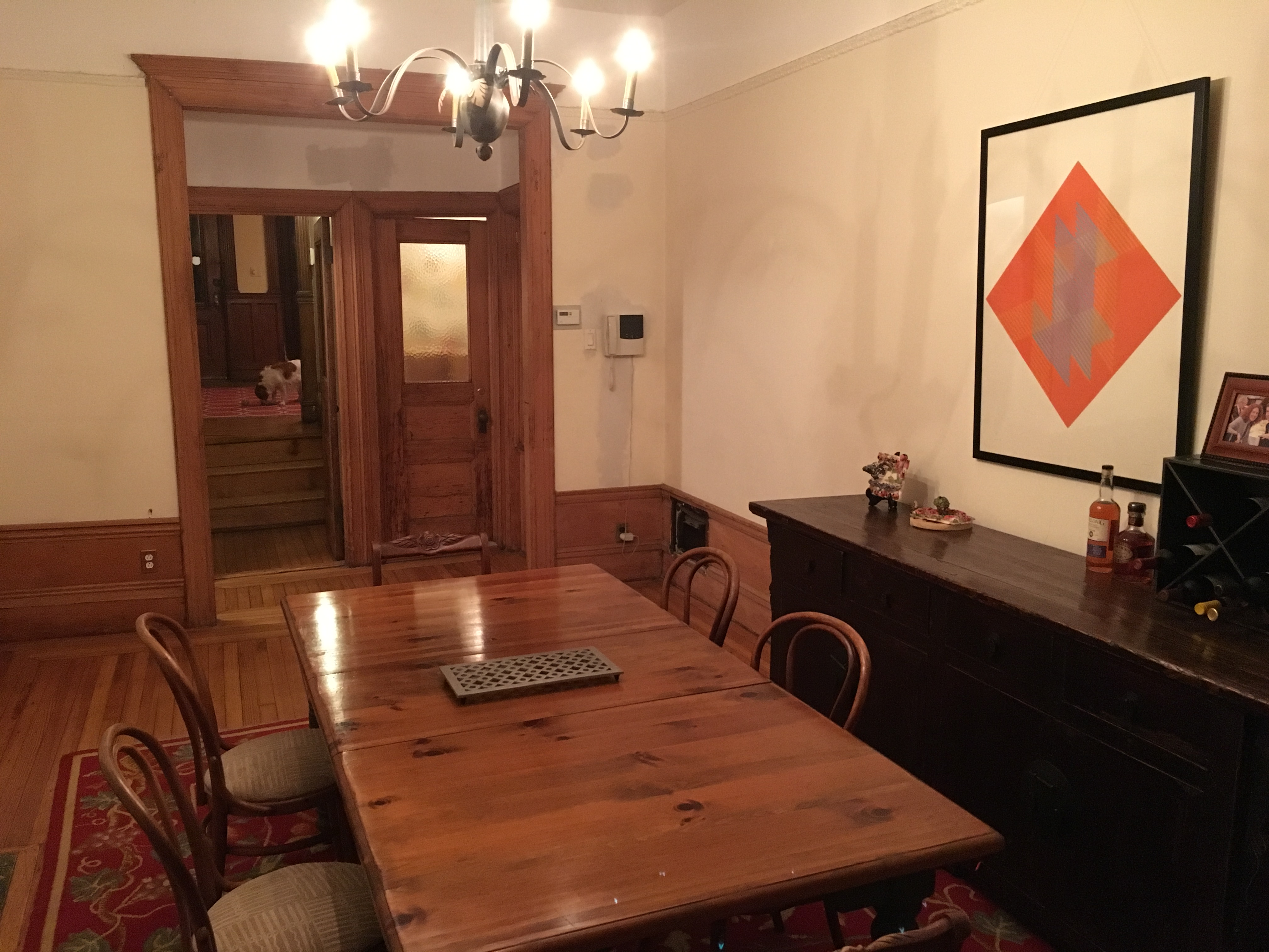 new york city brownstone with backyard home exchange