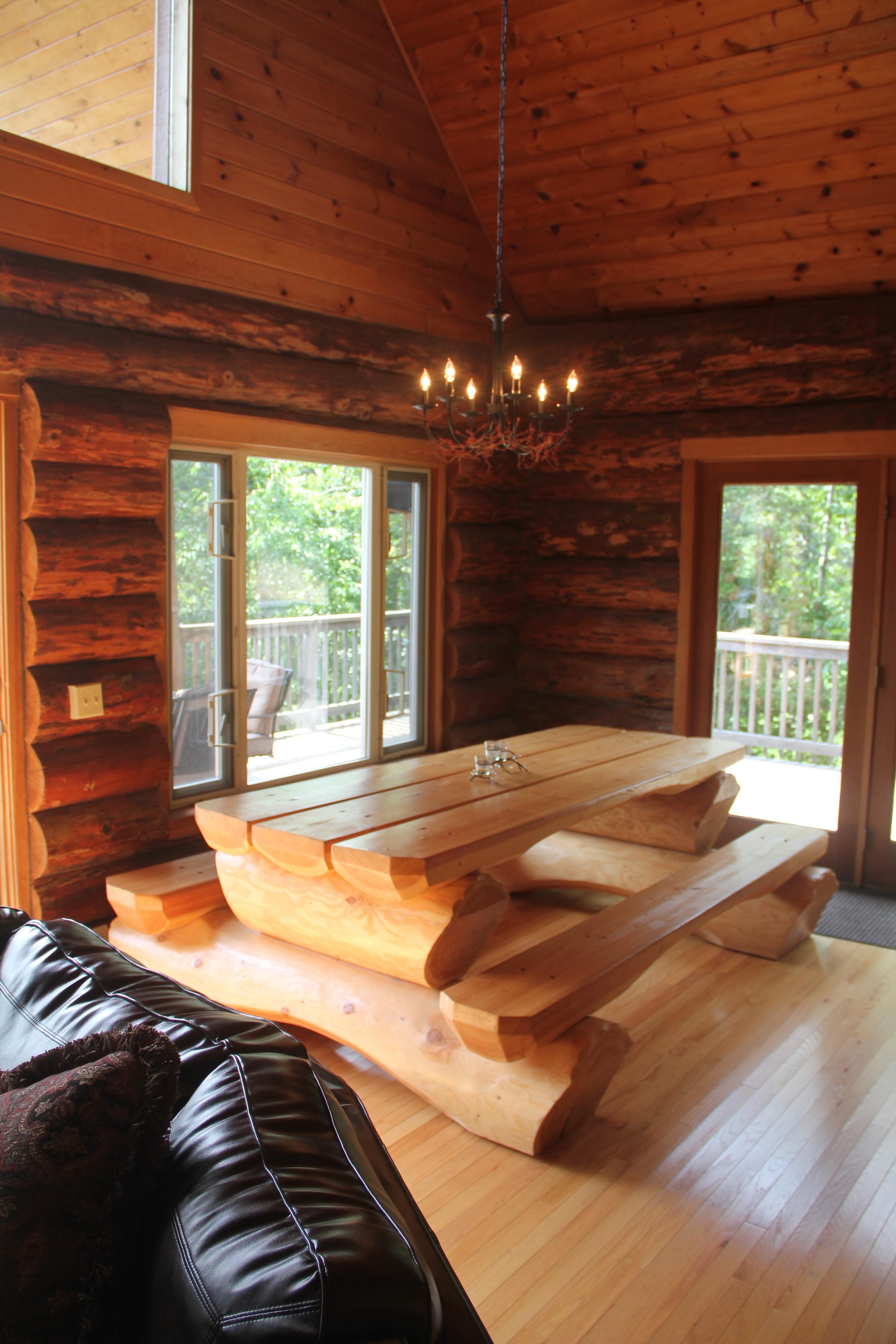 Lakefront Log home on beautiful Lake Coeur d Alene Home Exchange