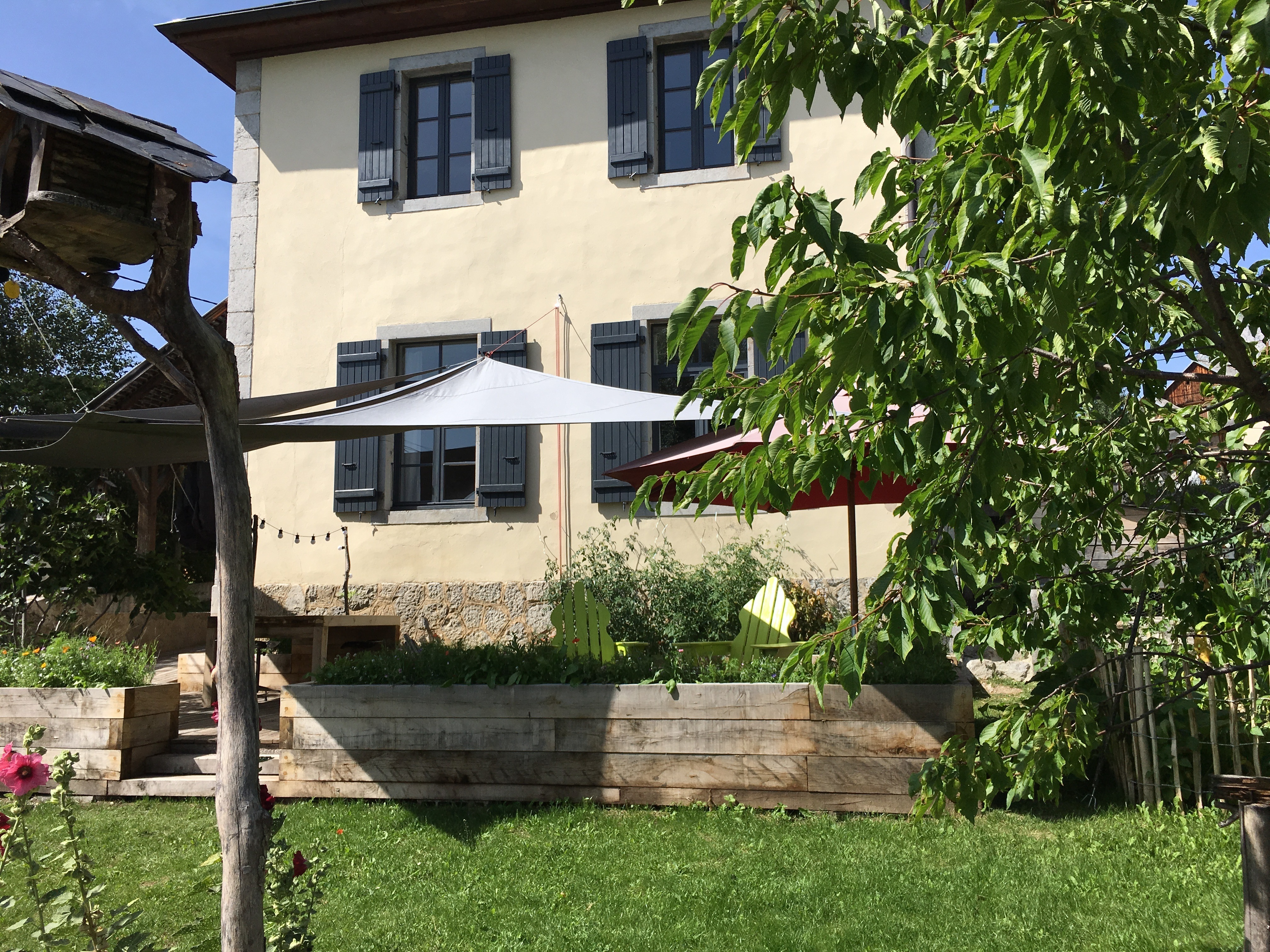 old annecy in french alps home exchange