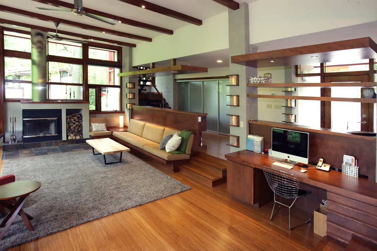 Gorgeous Frank Lloyd Wright Inspired 4BR Home In Columbus, Ohio