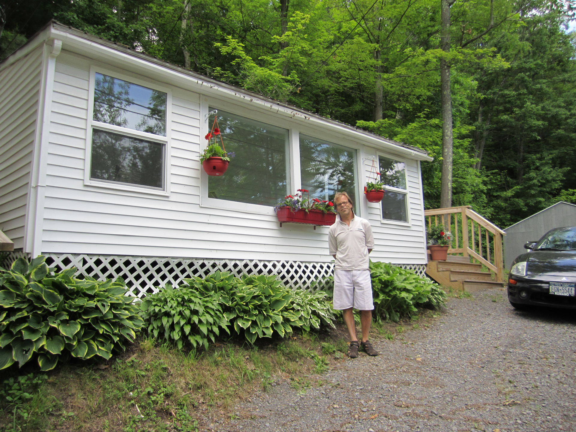 Upstate New York camp with lake access 6 miles from Cooperstown NY