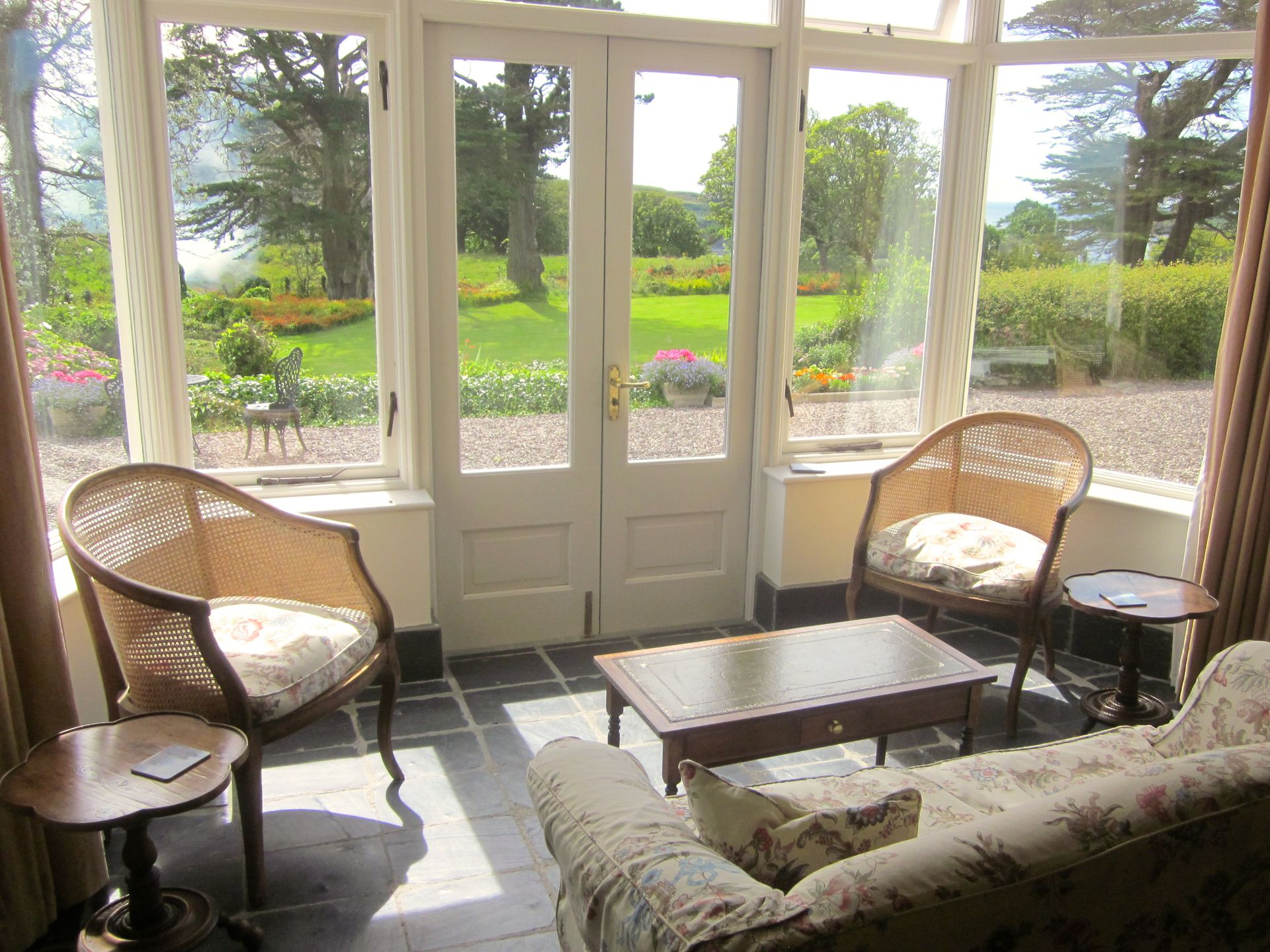 west cork village of castletownshend garden sea views home exchange