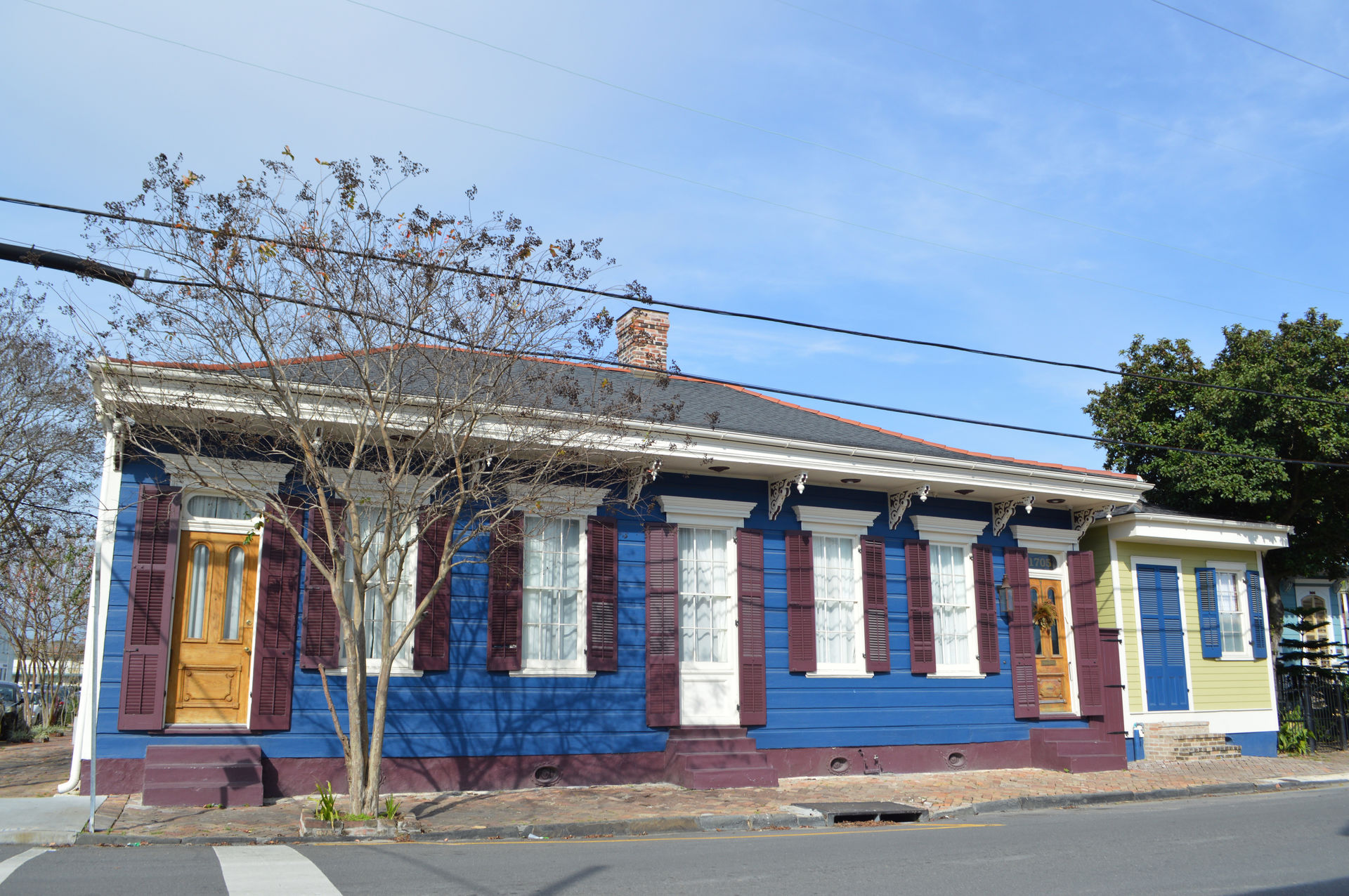 Gorgeous new orleans marigny home 1 block from the french quarter front of home on burgundy street sciox Image collections