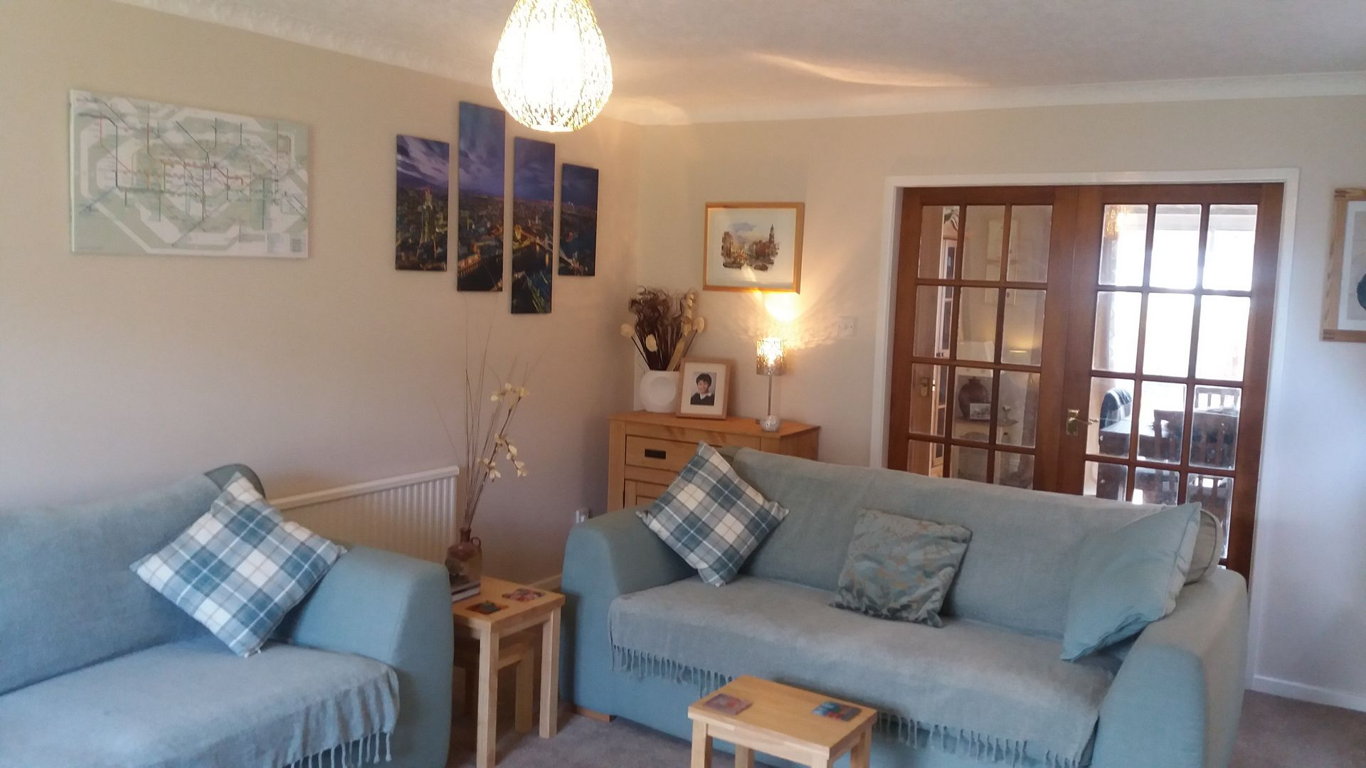 Large Family Home with Garden and decking,half mile from the Beach ...
