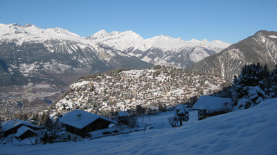 A chalet in Vercorin, nice village in the heart of the Swiss Alps