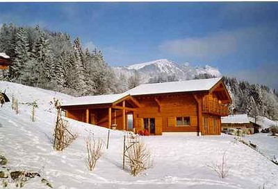 Beautiful chalet in Swiss Alps ski resort (Lake Geneva Region)